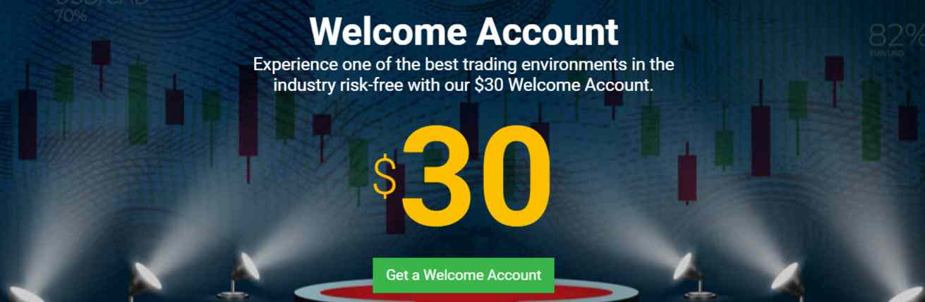 Tickmill  Welcome Account